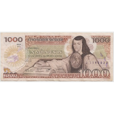 1000 песо 1984 г.