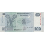 100 франков 2007 г.