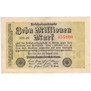 10000000 марок 1923 г.