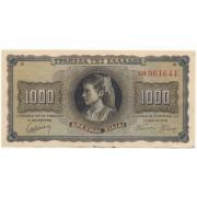 1000 драхм 1942 г.