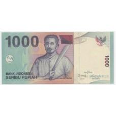 1000 рупий 2012 г.