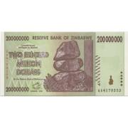 200000000 долларов 2008, Зимбабве