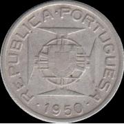 2,5 эскудо 1950, Мозамбик (Португалия)