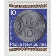 Новая монета 10 тойя.  1975 г.