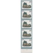 Замок. 1984 г. 5 марок.