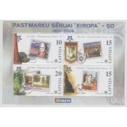 50 лет первой марке серии Европа. 2006 г. Блок