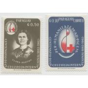 100 лет Красному Кресту. 1964 г. 2 марки