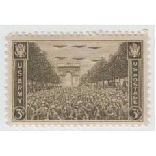 Освобождение Парижа союзниками. США. 1945 г.