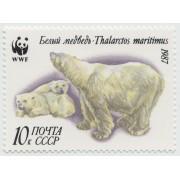 Белый медведь. 1987 г.