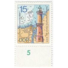 Маяк порта Варнемюнде. 1974 г.