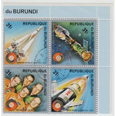 Союз-Аполлон 1975 г., Квартблок.