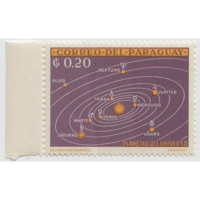 Планеты солнечной системы 1962 г.