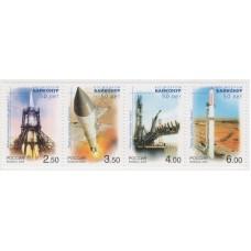 Космодром Байконур. 2004 г.  Сцепка.