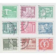 Стандарты 1973-1974г . 9 марок. Гашение.