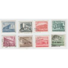 Стандарты 1951-1953 г . 8 марок. Гашение.