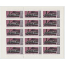 Пассажирский паровоз 1978 г. Полный лист