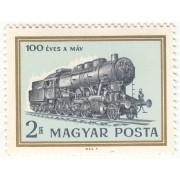 100 лет Венгерской железной дороге. 1968 г.